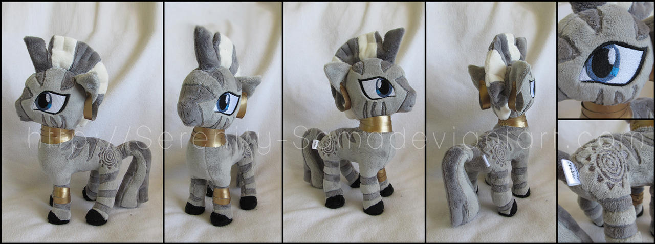 Plushie: Zecora - My Little Pony: FiM by Serenity-Sama