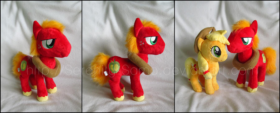 Plushie: Big Macintosh - My Little Pony: FiM by Serenity-Sama