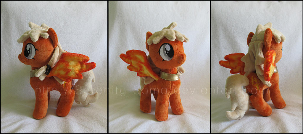 Plushie: Pony OC - My Little Pony: FiM by Serenity-Sama