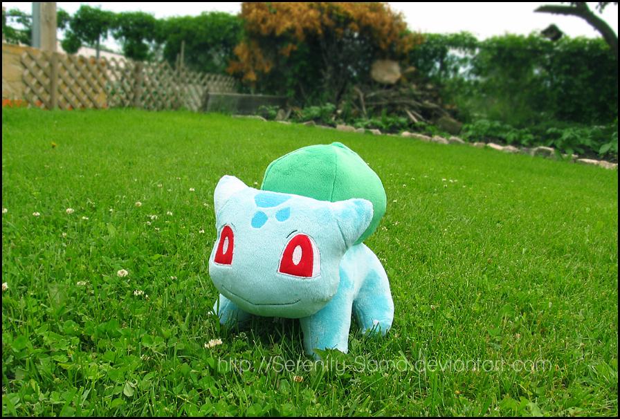 Plushie: Bulbasaur - Pokemon by Serenity-Sama