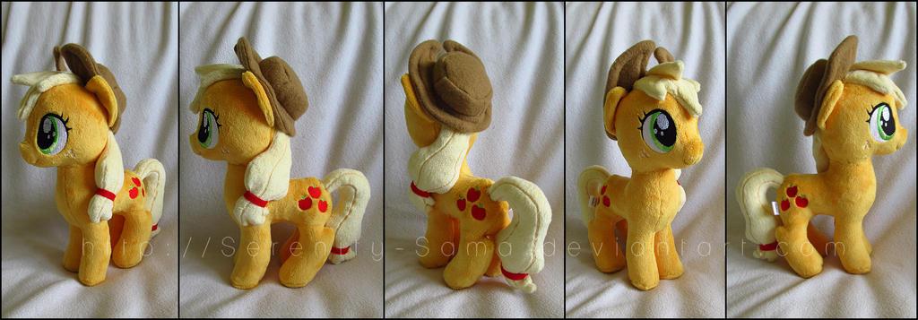 Plushie: Applejack - My Little Pony: FiM by Serenity-Sama