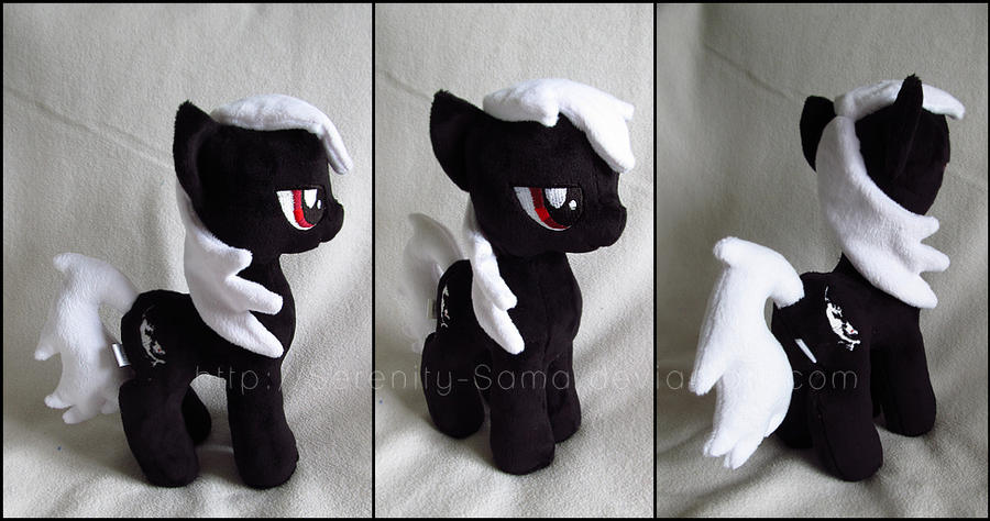 Plushie: OC 3 - My Little Pony: FiM by Serenity-Sama
