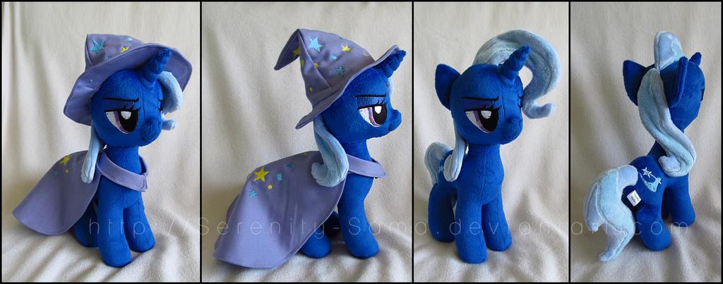 Plushie: Trixie - My Little Pony: FiM by Serenity-Sama
