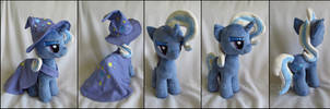 Plushie: Trixie 2 - My Little Pony: FiM by Serenity-Sama