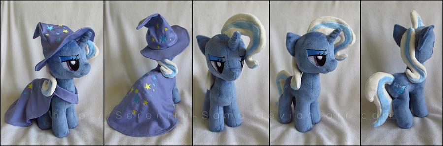 Plushie: Trixie 2 - My Little Pony: FiM by Serenity-Sama