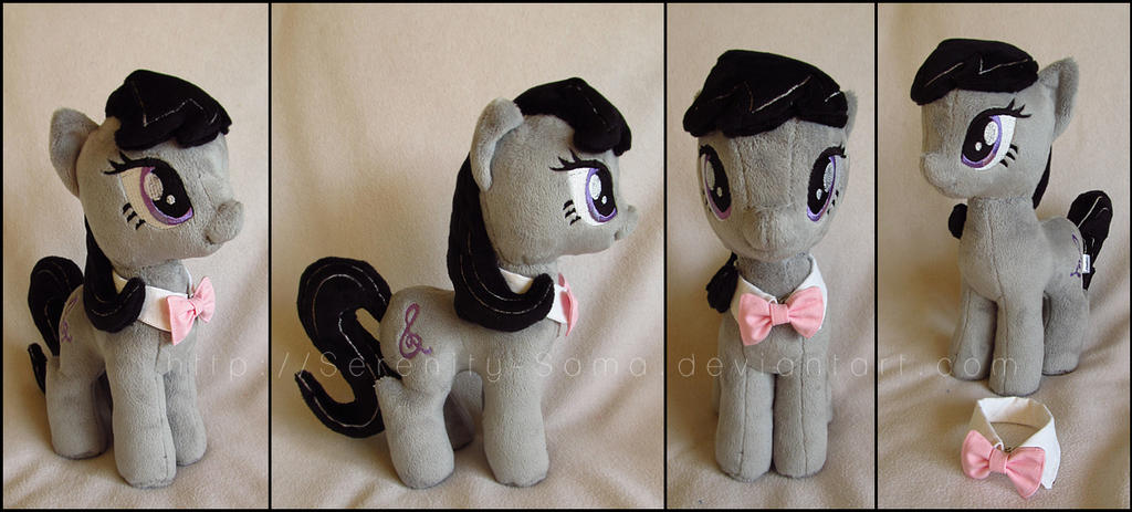 Plushie: Octavia - My Little Pony: FiM by Serenity-Sama