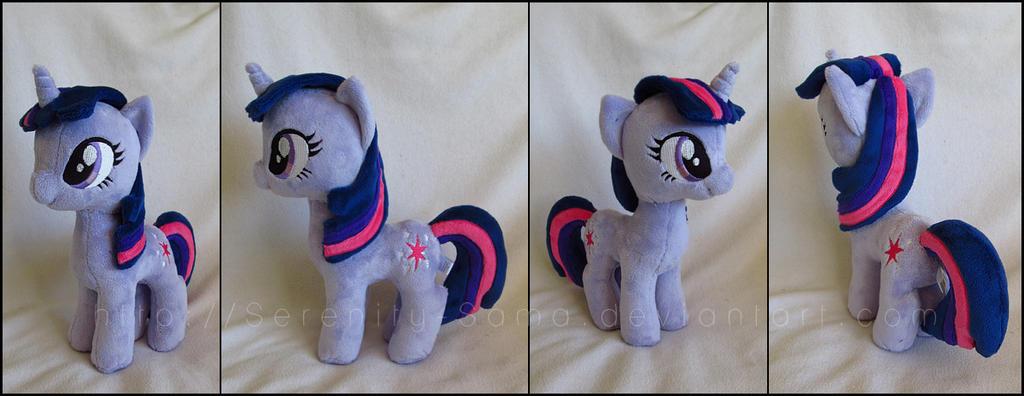 Plushie: Twilight Sparkle - My Little Pony: FiM by Serenity-Sama