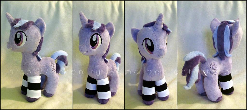Plushie: Pony OC 6 - My Little Pony: FiM by Serenity-Sama