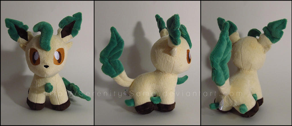 Pokedoll: Leafeon by Serenity-Sama