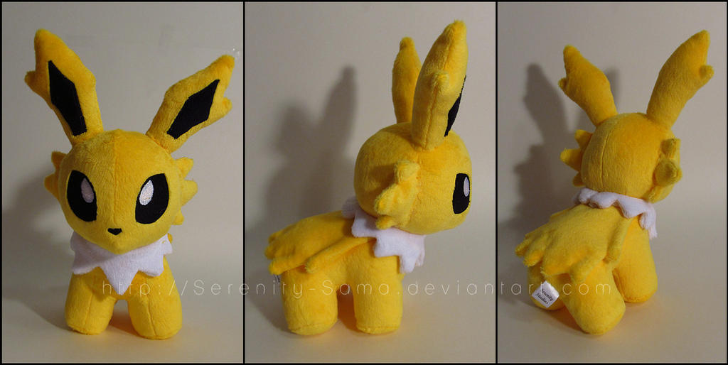 Pokedoll: Jolteon by Serenity-Sama