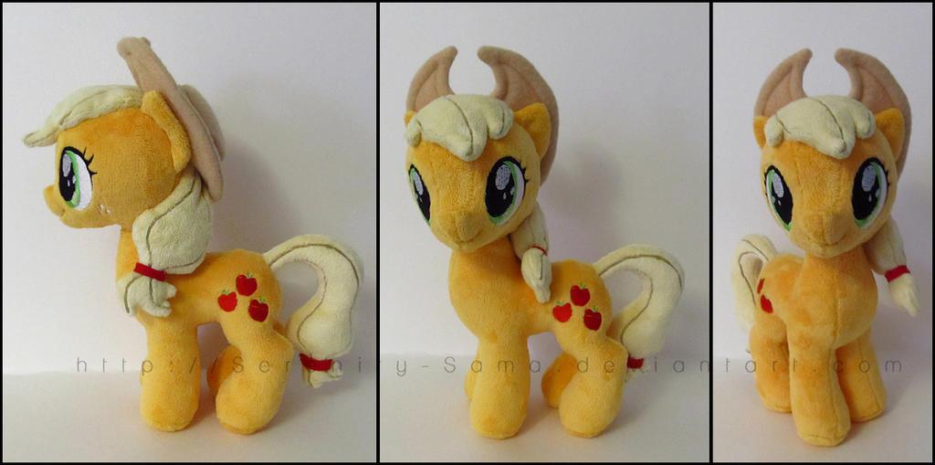 Plushie: Applejack [J] - My Little Pony: FiM by Serenity-Sama