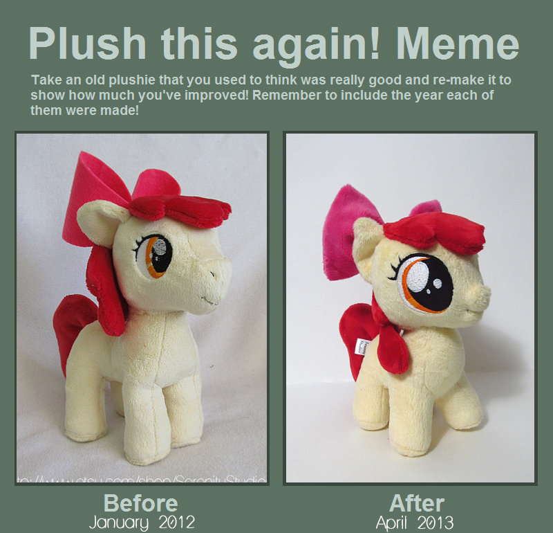 Plush this again! Meme by Serenity-Sama