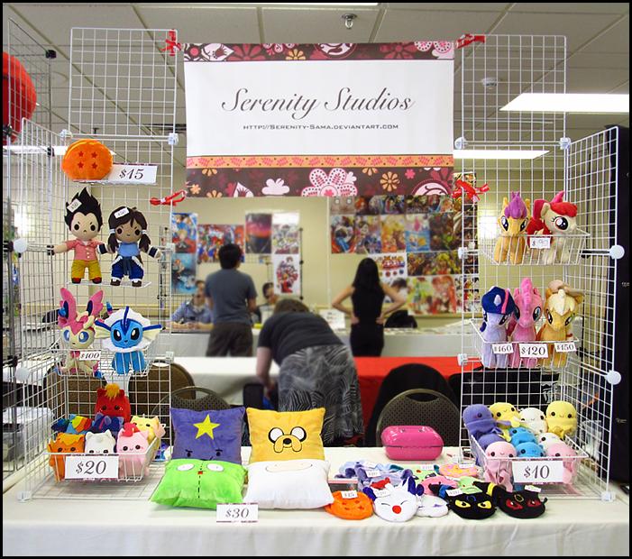 Anime Expo Stands : Anime detour art table by serenity sama on deviantart
