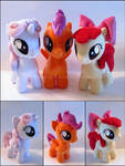 Plushie: Cutie Mark Crusaders