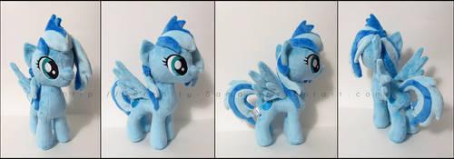 Plushie: Indigo Sky - My Little Pony: FiM by Serenity-Sama