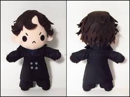 Chibi Sherlock - BBC Sherlock by Serenity-Sama