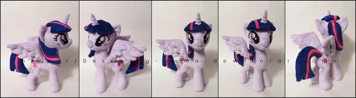 Plushie: Princess Twilight - My Little Pony: FiM by Serenity-Sama
