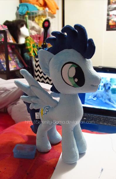 Plushie: Soarin - My Little Pony: FiM by Serenity-Sama