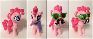 Plushie: Pinkie Pie and accessories - MLP:FiM