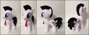 Plushie: Keystroke - My Little Pony: FiM by Serenity-Sama