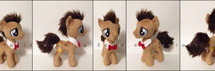 Plushie: Doctor Whooves/Time Turner - MLP: FiM by Serenity-Sama