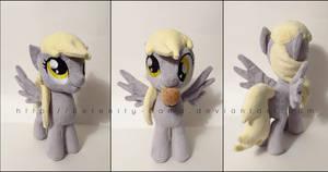 Plushie: Derpy Hooves - My Little Pony: FiM by Serenity-Sama