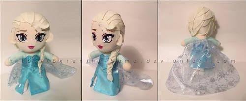 Plushie: Elsa - Frozen by Serenity-Sama