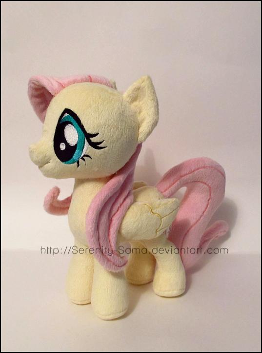 Plushie: Fluttershy - My Little Pony: FiM by Serenity-Sama