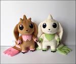 Plushie: Terriermon and Lopmon