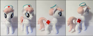Plushie: Nurse RedHeart - My Little Pony: FiM by Serenity-Sama