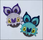 Zipper Pouches: Noibat and Shiny Noibat