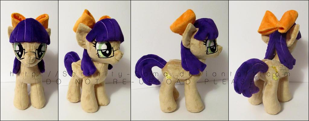 Plushie: Lauren Juice - My Little Pony: FiM by Serenity-Sama