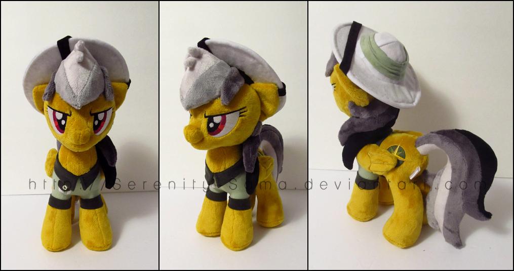 Plushie: Daring Do - My Little Pony: FiM by Serenity-Sama