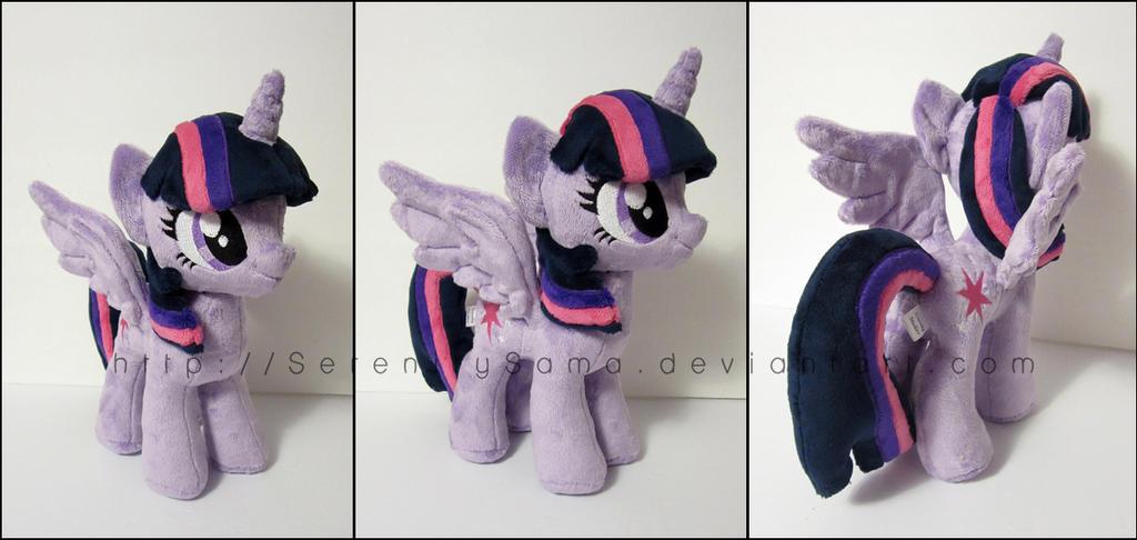 Plushie: Princess Twilight Sparkle - MLP: FiM by Serenity-Sama