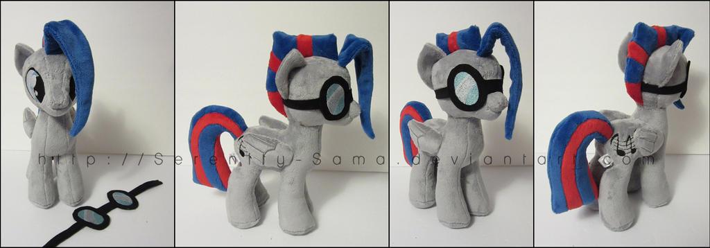 Plushie: Silver String - My Little Pony: FiM by Serenity-Sama