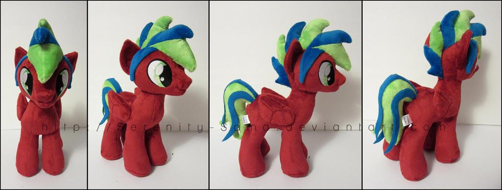 Plushie: Stallion OC - My Little Pony: FiM by Serenity-Sama