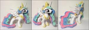 Plushie: Princess Celestia - My Little Pony: FiM by Serenity-Sama