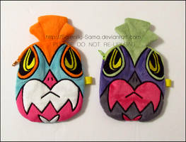 Zipper Pouch: Hawlucha and Shiny Hawlucha