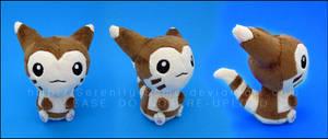 Plushie: Furret Pokedoll by Serenity-Sama