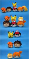 Stacking Plush: Pokemon Vol. 1
