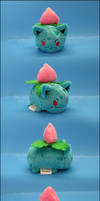 Stacking Plush: Mini Ivysaur - Pokemon