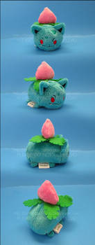 Stacking Plush: Mini Ivysaur - Pokemon by Serenity-Sama