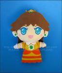 Chibi Keychain: Princess Daisy - Super Mario Land