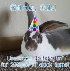 Birthday Sale! by Serenity-Sama
