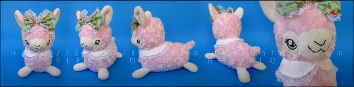 Plushie: Sweet Alpaca by Serenity-Sama