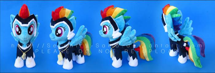 Plushie: Zapp - My Little Pony: FiM by Serenity-Sama