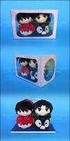 Stacking Plush: Ranma Half Box Set