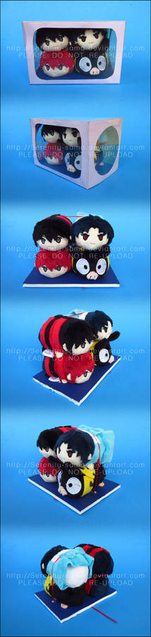 Stacking Plush: Ranma Half Box Set