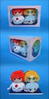 Stacking Plush: Magic Knight Rayearth Box Set