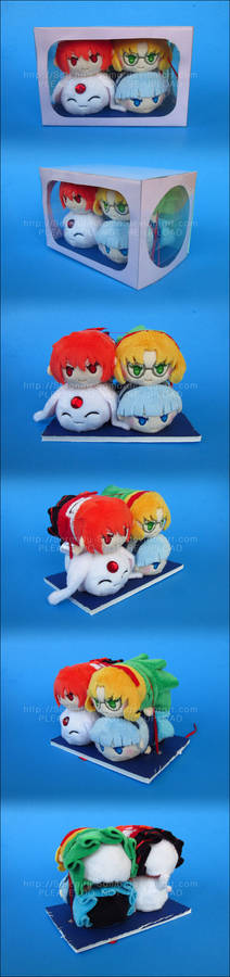 Stacking Plush: Magic Knight Rayearth Box Set